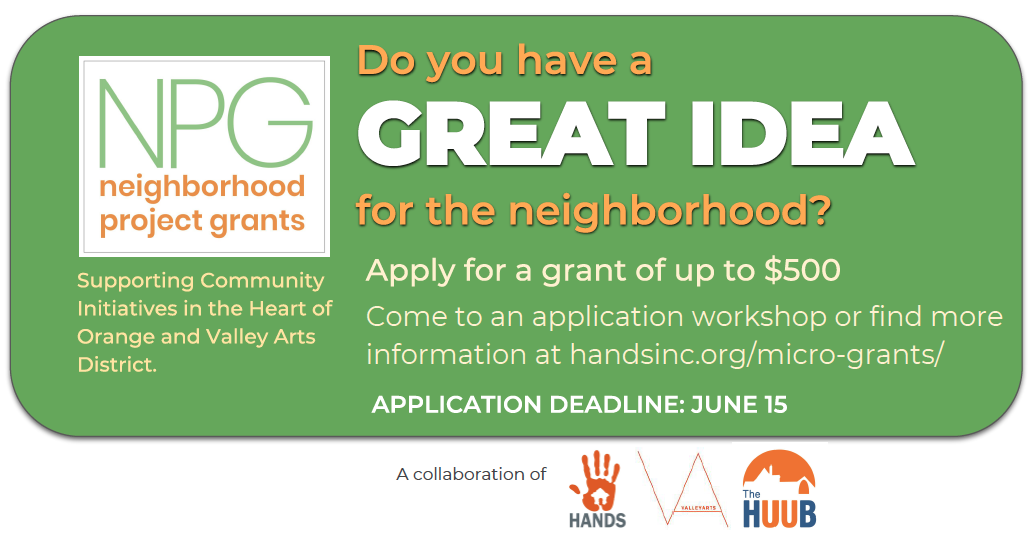 Neighborhood Project Grant Workshop – The First Unitarian